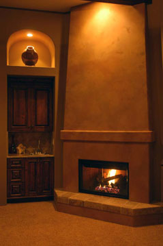 Master Suite Fireplace